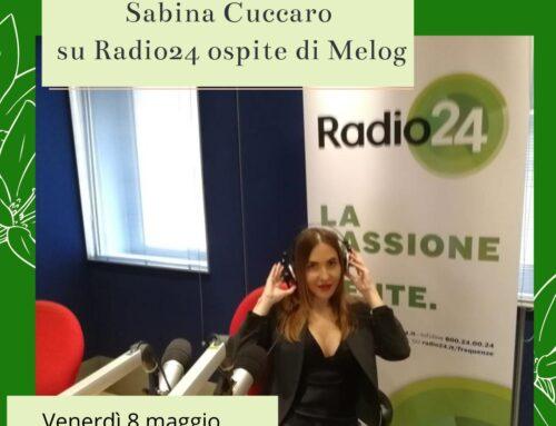 Sabina Cuccaro su Radio24 ospite di Melog